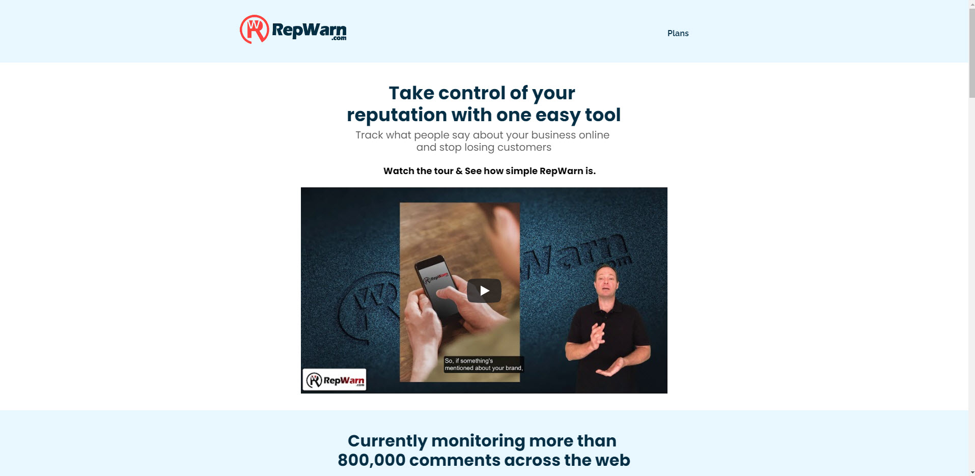 repwarn-screen